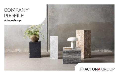 Actona Company Profile brochure