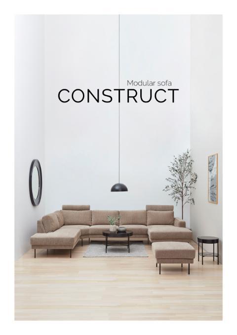 Contruct modular sofa